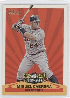 2012 Topps Heritage - New Age Performers #NAP MC - Miguel Cabrera