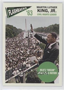 2012 Topps Heritage - News Flashbacks #NF-MK - Martin Luther King Jr.