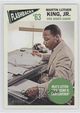 2012 Topps Heritage - News Flashbacks #NF-MKI - Martin Luther King Jr.