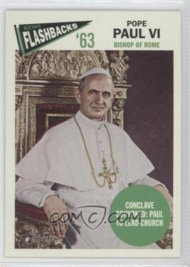 2012 Topps Heritage - News Flashbacks #NF-PP - Pope Paul VI
