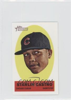 2012 Topps Heritage - Stick-Ons #12 - Starlin Castro