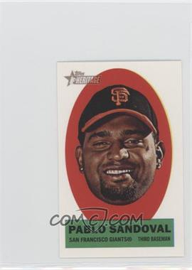 2012 Topps Heritage - Stick-Ons #8 - Pablo Sandoval