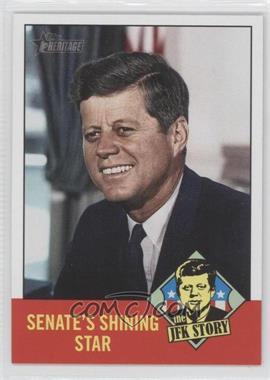 2012 Topps Heritage - The JFK Story #JFK3 - John F. Kennedy