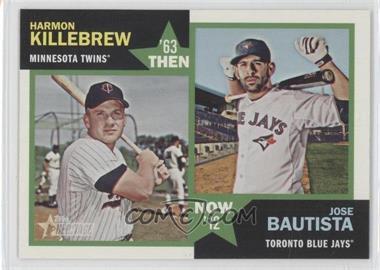 2012 Topps Heritage - Then and Now #TN-KB - Harmon Killebrew, Jose Bautista