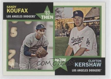 2012 Topps Heritage - Then and Now #TN-KK - Sandy Koufax, Clayton Kershaw