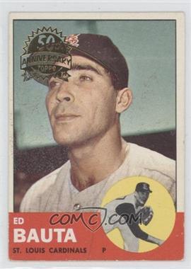 2012 Topps Heritage 1963 Topps 50th Anniversary Buybacks #336 - Ed Bauta