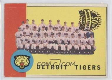 2012 Topps Heritage 1963 Topps 50th Anniversary Buybacks #552 - Detroit Tigers Team