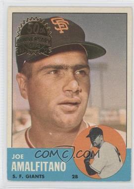 2012 Topps Heritage 1963 Topps Buybacks #199 - Joe Amalfitano