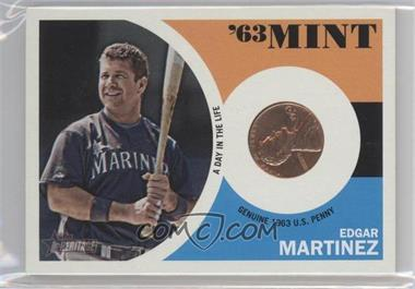2012 Topps Heritage '63 Mint #63EMZ - Edgar Martinez