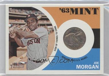 2012 Topps Heritage '63 Mint #63JM - Joe Morgan