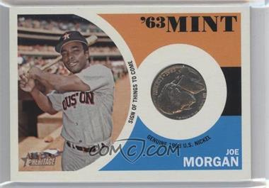 2012 Topps Heritage '63 Mint #63JM - Joe Morgan