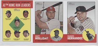 2012 Topps Heritage Advertising Panels #161 - [Missing]