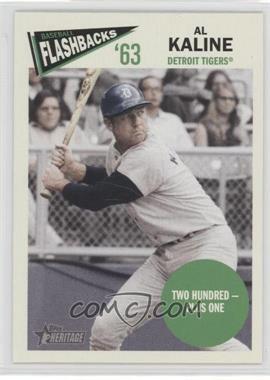 2012 Topps Heritage Baseball Flashbacks #BF-AK - Al Kaline