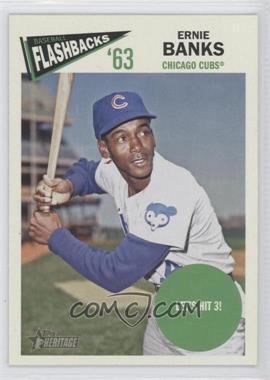 2012 Topps Heritage Baseball Flashbacks #BF-EB - Ernie Banks