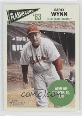 2012 Topps Heritage Baseball Flashbacks #BF-EW - Early Wynn