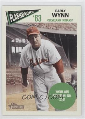 2012 Topps Heritage Baseball Flashbacks #BF-EW - Early Wynn