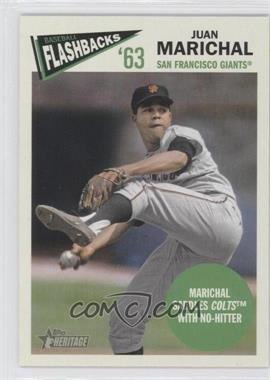 2012 Topps Heritage Baseball Flashbacks #BF-JM - Juan Marichal