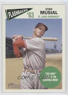 2012 Topps Heritage Baseball Flashbacks #BF-SM - Stan Musial