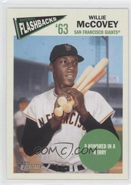 2012 Topps Heritage Baseball Flashbacks #BF-WMC - Willie McCovey