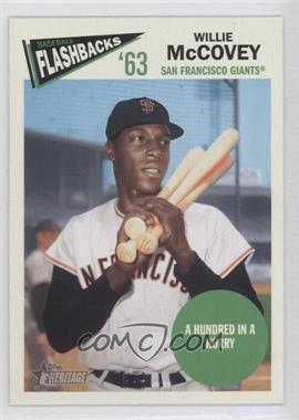 2012 Topps Heritage Baseball Flashbacks #BF-WMC - Willie McCovey