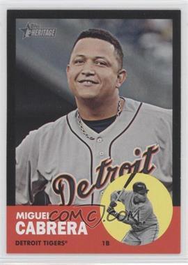 2012 Topps Heritage Black #HP5 - Miguel Cabrera