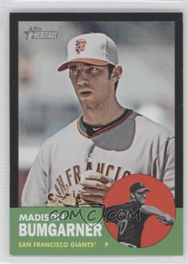 2012 Topps Heritage Black #HP66 - Madison Bumgarner