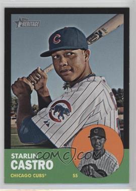 2012 Topps Heritage Black #HP80 - Starlin Castro
