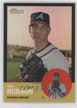 2012 Topps Heritage Chrome Black Refractor #HP60 - Tim Hudson /63