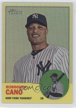 2012 Topps Heritage Chrome Refractor #HP10 - Robinson Cano /563