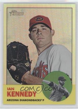 2012 Topps Heritage Chrome Refractor #HP47 - Ian Kennedy /563