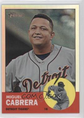 2012 Topps Heritage Chrome Refractor #HP5 - Miguel Cabrera /563