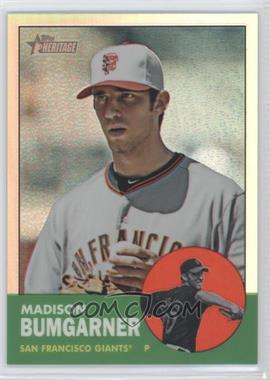 2012 Topps Heritage Chrome Refractor #HP66 - Madison Bumgarner /563