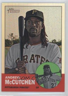 2012 Topps Heritage Chrome Refractor #HP79 - Andrew McCutchen /563
