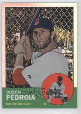 2012 Topps Heritage Chrome Refractor #HP9 - Dustin Pedroia /563