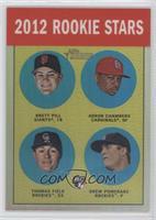 Brett Pill, Adron Chambers, Drew Pomeranz, Mark Fidrych /563