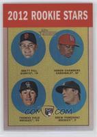 Brett Pill, Adron Chambers, Drew Pomeranz, Thomas Field /563