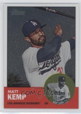 2012 Topps Heritage Chrome #HP1 - Matt Kemp /1963