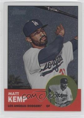 2012 Topps Heritage Chrome #HP1 - Matt Kemp /1963