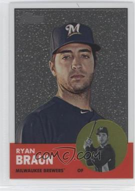 2012 Topps Heritage Chrome #HP2 - Ryan Braun /1963