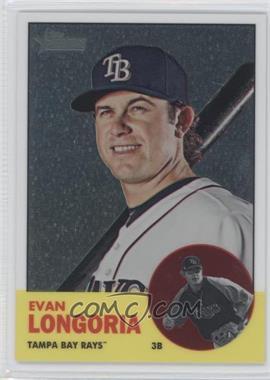 2012 Topps Heritage Chrome #HP28 - Evan Longoria /1963