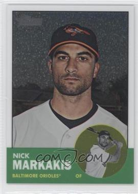 2012 Topps Heritage Chrome #HP35 - Nick Markakis /1963