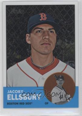 2012 Topps Heritage Chrome #HP4 - Jacoby Ellsbury /1963