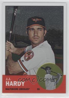 2012 Topps Heritage Chrome #HP41 - J.J. Hardy /1963
