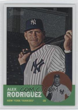 2012 Topps Heritage Chrome #HP43 - Alex Rodriguez /1963
