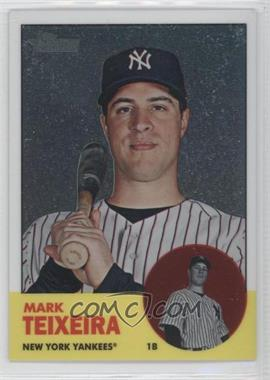 2012 Topps Heritage Chrome #HP77 - Mark Teixeira /1963