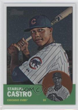 2012 Topps Heritage Chrome #HP80 - Starlin Castro /1963