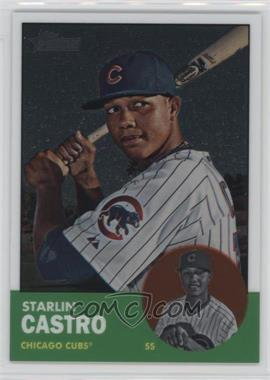 2012 Topps Heritage Chrome #HP80 - Starlin Castro /1963
