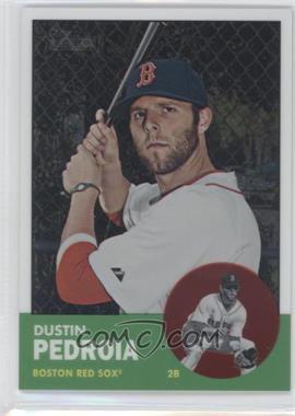 2012 Topps Heritage Chrome #HP9 - Dustin Pedroia /1963