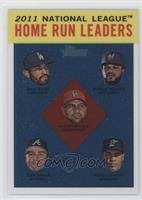 National League Home Run Leaders (Matt Kemp, Prince Fielder, Albert Pujols, Dan…
