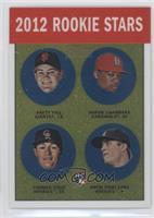Adron Chambers, Drew Pomeranz, Brett Pill, Mark Fidrych /1963